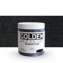 Golden : Heavy Body : Acrylic Paint : 236ml : Dioxazine Purple