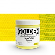 Golden : Heavy Body Acrylic Paint : 236ml : Hansa Yellow Opaque