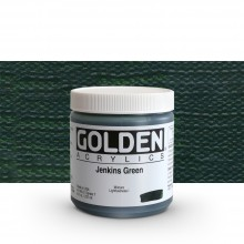 Golden : Heavy Body Acrylic Paint : 236ml : Jenkins Green