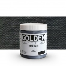 Golden : Heavy Body Acrylic Paint : 236ml : Mars Black