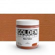 Golden : Heavy Body : Acrylic Paint : 236ml : Mars Yellow