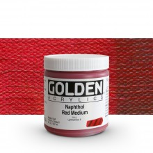 Golden : Heavy Body Acrylic Paint : 236ml : Naphthol Red Medium