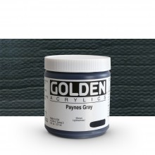 Golden : Heavy Body Acrylic Paint : 236ml : Paynes Grey