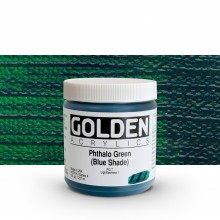Golden : Heavy Body Acrylic Paint : 236ml : Phthalo Green Blue Shade