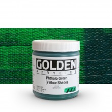Golden : Heavy Body Acrylic Paint : 236ml : Phthalo Green Yellow Shade