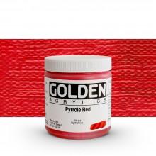 Golden : Heavy Body : Acrylic Paint : 236ml : Pyrrole Red