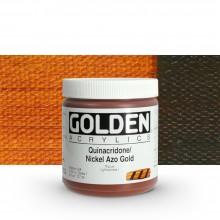 Golden : Heavy Body : Acrylic Paint : 236ml : Quinacridone Nickel Azo Gold