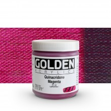Golden : Heavy Body Acrylic Paint : 236ml : Quinacridone Magenta