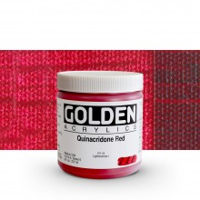 Golden : Heavy Body Acrylic Paint : 236ml : Quinacridone Red