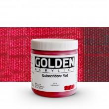 Golden : Heavy Body Acrylic Paint : 236ml : Quinacridone Red