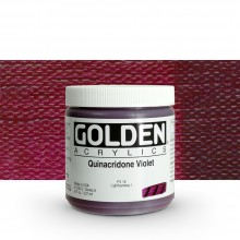 Golden : Heavy Body : Acrylic Paint : 236ml : Quinacridone Violet