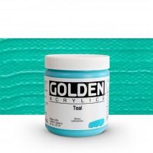 Golden : Heavy Body Acrylic Paint : 236ml : Teal Iii