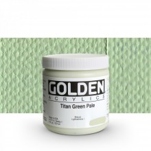 Golden : Heavy Body Acrylic Paint : 236ml : Titan Green Pale I