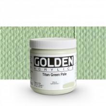 Golden : Heavy Body : Acrylic Paint : 236ml : Titan Green Pale I