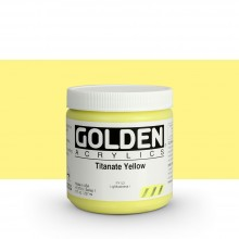 Golden : Heavy Body Acrylic Paint : 236ml : Titanate Yellow