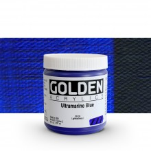 Golden : Heavy Body Acrylic Paint : 236ml : Ultramarine Blue