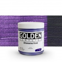 Golden : Heavy Body Acrylic Paint : 236ml : Ultramarine Violet