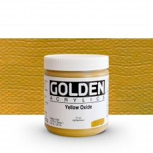 Golden : Heavy Body Acrylic Paint : 236ml : Yellow Oxide