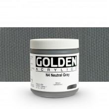 Golden : Heavy Body Acrylic Paint : 236ml : Neutral Grey No.4