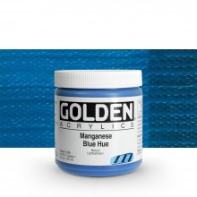 Golden : Heavy Body : Acrylic Paint : 236ml : Manganese Blue Hue