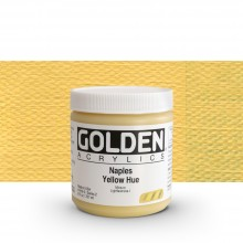 Golden : Heavy Body : Acrylic Paint : 236ml : Naples Yellow Hue