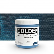 Golden : Heavy Body Acrylic Paint : 236ml : Azurite