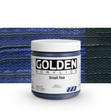 Golden : Heavy Body : Acrylic Paint : 236ml : Smalt Hue