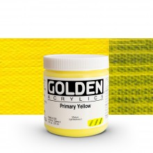 Golden : Heavy Body Acrylic Paint : 236ml : Primary Yellow