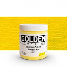 Golden : Heavy Body Acrylic Paint : 236ml : Cadmium Yellow Medium Hue