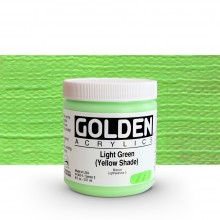 Golden : Heavy Body : Acrylic Paint : 236ml : Light Green Yellow Shade