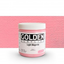Golden : Heavy Body Acrylic Paint : 236ml : Light Magenta