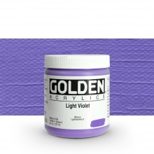 Golden : Heavy Body Acrylic Paint : 236ml : Light Violet