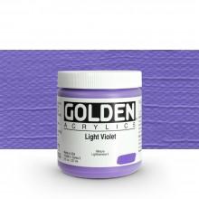 Golden : Heavy Body : Acrylic Paint : 236ml : Light Violet