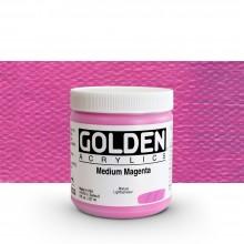 Golden : Heavy Body : Acrylic Paint : 236ml : Medium Magenta