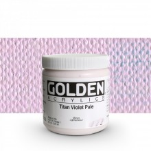Golden : Heavy Body Acrylic Paint : 236ml : Titan Violet Pale  I