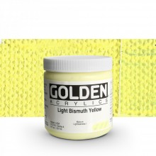 Golden : Heavy Body : Acrylic Paint : 236ml : Light Bismuth Yellow IV