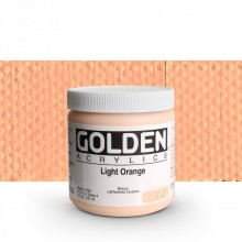 Golden : Heavy Body Acrylic Paint : 236ml : Light Orange IV