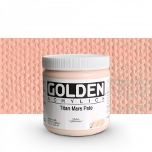 Golden : Heavy Body Acrylic Paint : 236ml : Titan Mars Pale I