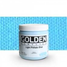 Golden : Heavy Body : Acrylic Paint : 236ml : Light Phthalo Blue I