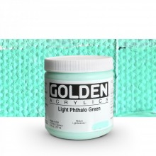 Golden : Heavy Body Acrylic Paint : 236ml : Light Phthalo Green I