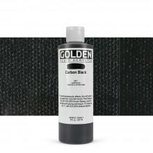 Golden : Fluid Acrylic Paint : 236ml (8oz) : Carbon Black