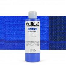 Golden : Fluid Acrylic Paint : 236ml (8oz) : Cobalt Blue