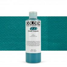 Golden : Fluid : Acrylic Paint : 236ml (8oz) : Cobalt Turquoise