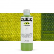 Golden : Fluid : Acrylic Paint : 236ml (8oz) : Green Gold