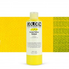 Golden : Fluid : Acrylic Paint : 236ml (8oz) : Hansa Yellow Opaque