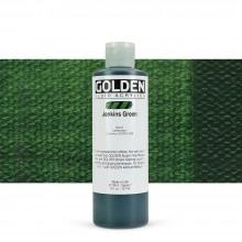 Golden : Fluid Acrylic Paint : 236ml (8oz) : Jenkins Green