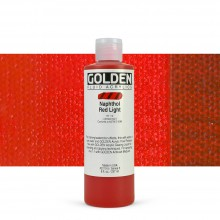 Golden : Fluid Acrylic Paint : 236ml (8oz) : Naphthol Red Light