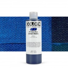 Golden : Fluid : Acrylic Paint : 236ml (8oz) : Phthalo Blue Green Shade
