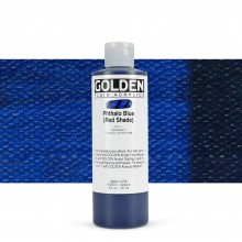 Golden : Fluid : Acrylic Paint : 236ml (8oz) : Phthalo Blue Red Shade