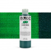 Golden : Fluid : Acrylic Paint : 236ml (8oz) : Phthalo Green Yellow Shade